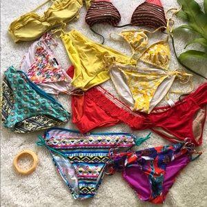 Other - Mixed Bikini Tops & Bottom